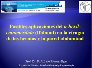 Posibles aplicaciones del n-hexil-cianoacrilato(Ifabond) en la cirugía de las hernias y la pared abdominal